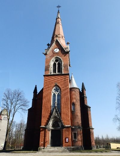 The church of St.Franciscus in Ostrava, Czechia