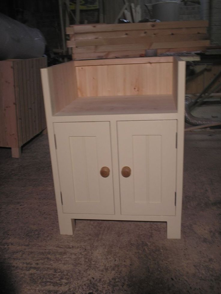 Freestanding Painted Kitchen Belfast Sink Unit (BBC 01/6)