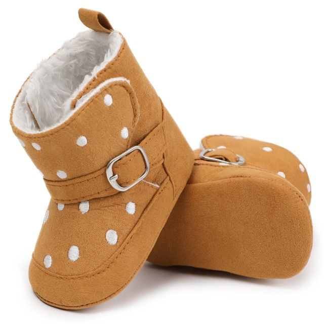 Toddler Newborn Shoes Boots First Walkers Warm Winter Baby Girls Boys Soft Sole