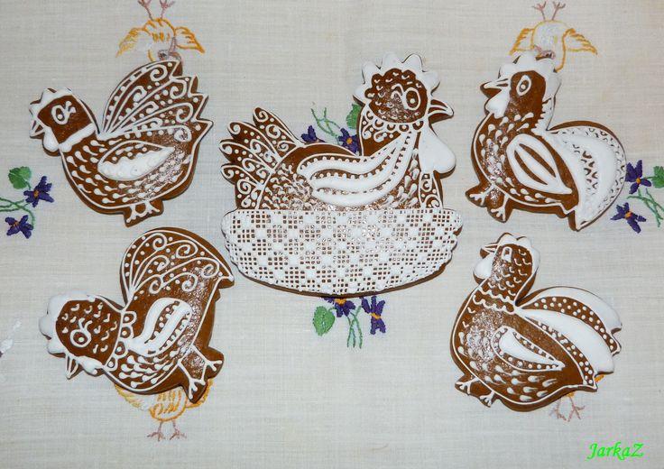gingerbread Easter - veľkonočné medovníčky