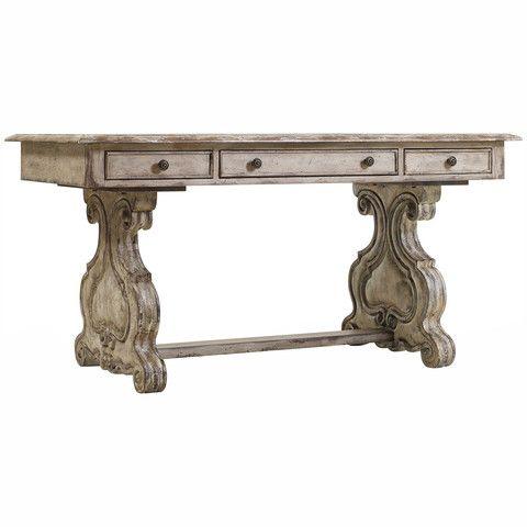 Hooker Furniture Chatelet Trestle Writing Desk 5350-10459