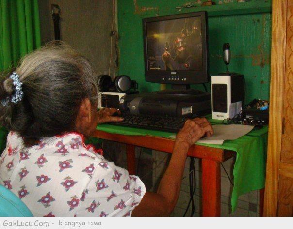 Lelucon berjudul Gamers sejati ! Makin Tua Makin Jadi ! yang dibuat oleh Raden Pondel di www.GakLucu.com. Temukan juga lelucon lain yang mirip.