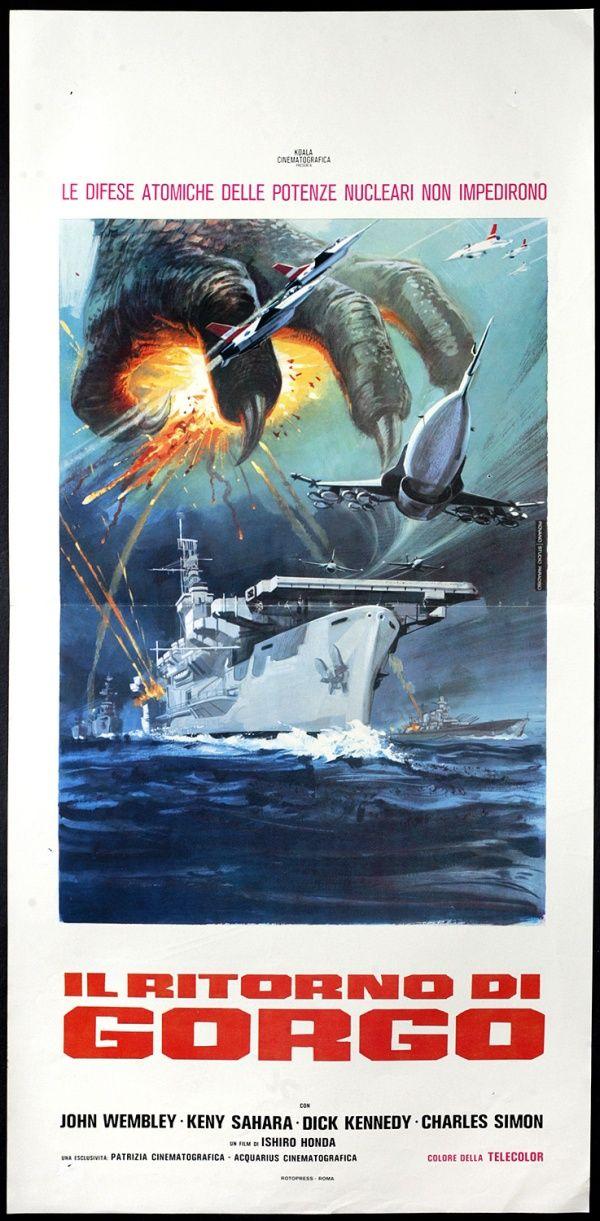 Son of Godzilla (1967) via Italy