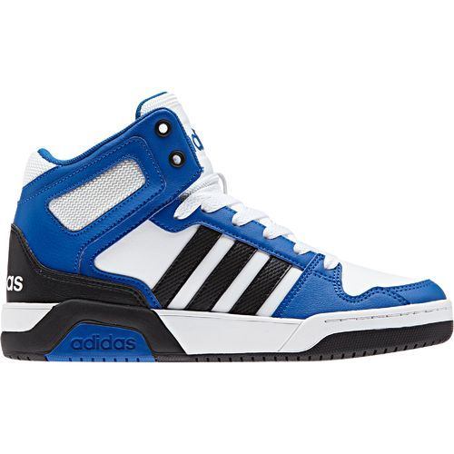 Adidas Boys' BB9TIS K Basketball Shoes (Footwear White/Core Black/Blue, Size 1.5) - Youth Basketball Shoes at Academy Sports