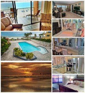 Beach Palms 407, offers premier accommodations, beach view, 3 bedrooms and large waterside pool, all in the charming town of Indian Shores Florida. This Gulf coast community is close to many of the favorite Florida attractions, but amazing enough to never want to leave. #BeachRentals #IndianShoresVacationRentalHomes #BeachFrontLiving