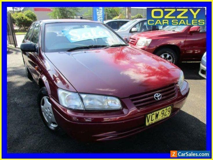 1998 Toyota Camry SXV20R CS-X Maroon Automatic 4sp A Sedan #toyota #camry #forsale #australia