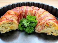 Csirkés burgonyakoszorú recept