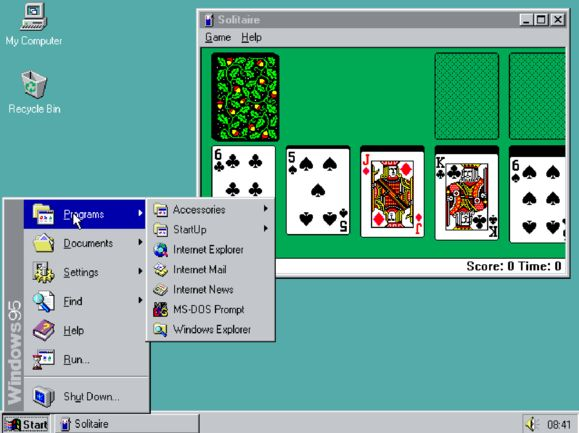 You can run Windows 95 inside your browser now A hefty dose of nostalgia is just a few clicks away.