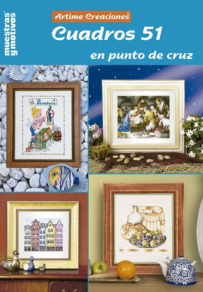 7 best muestras y motivos cuadros en punto de cruz - Muestras y motivos punto de cruz ...