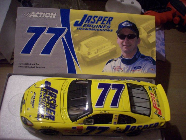 Action  David Blaney #77 Jasper Engines 2003 Ford Taurus 1:24 Diecast Car #Action #Ford