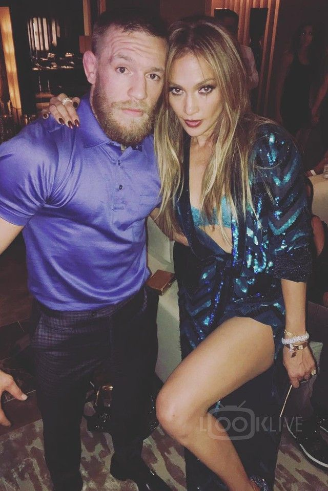 Conor McGregor wearing  Hermès Cotton Jersey Polo Shirt