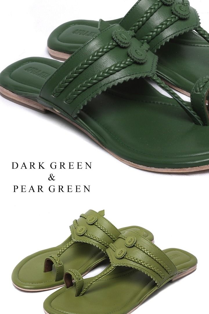 Avani Flats - Shades of Green (For