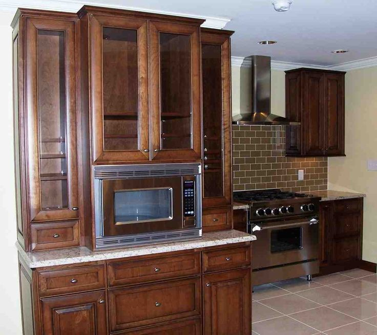 Kitchen Microwave Hutch: 17 Best Ideas About Microwave Cabinet On Pinterest