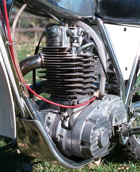bsa engine | clews develop his own extensive improvements to the bsa engine