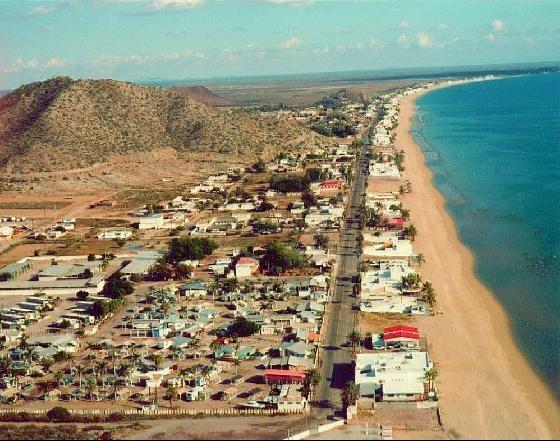 Bahía de Kino, playa ubicada a 45 mint de la ciudad de Hermosillo, Sonora