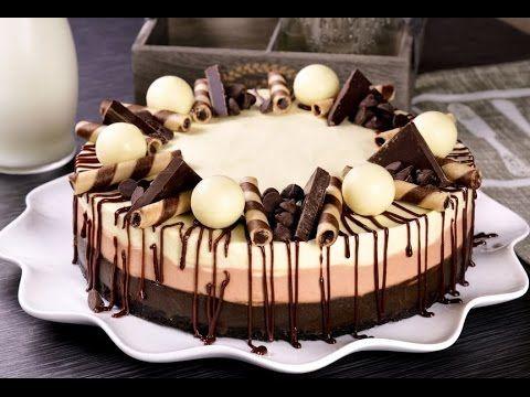 Cheesecake de 3 Chocolates