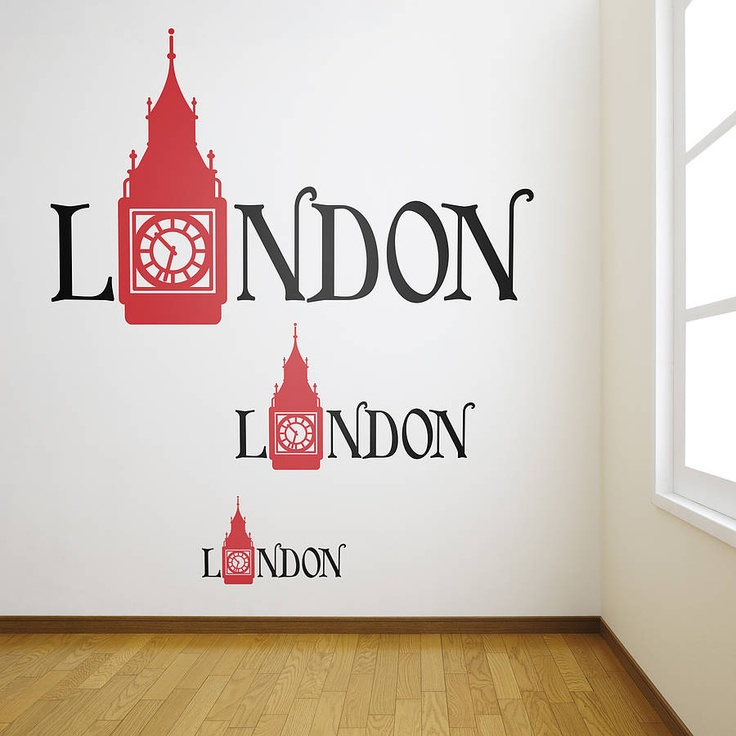 17 best images about london wall stickers decals on for London wall art