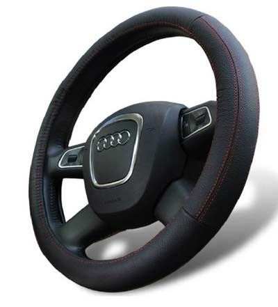 Universal Fit Leather Steering Cover #leather #steeringwheel #steeringwheelcover It is a steering wheel that is able to provide you with an excellent grip that will give you the best quality service. Forget about the sliding instances that you will get from the system if you have sweaty hands. That you need to forget and use something that is different.