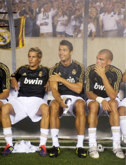 fabio coentrao, cristiano ronaldo and pepe... only missing my Iker Casillas!!!