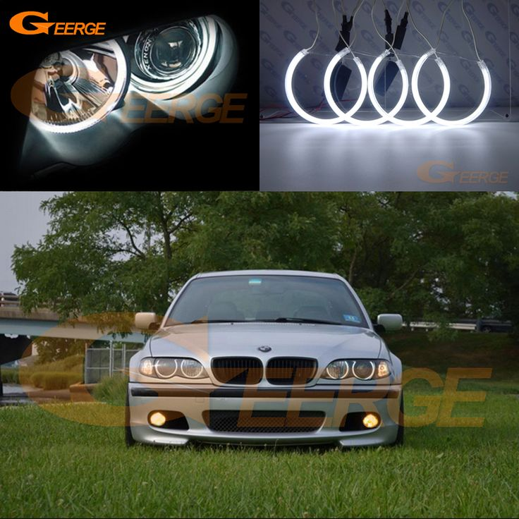 Find More Car Light Assembly Information about For BMW E46 325i 325xi 330i 330xi with HID headlights 1999 2004 Excellent CCFL angel eyes kit Ultrabright illumination Halo Ring,High Quality e46 facelift,China e46 325i Suppliers, Cheap e46 m3 body kit from Geerge-Tech on Aliexpress.com