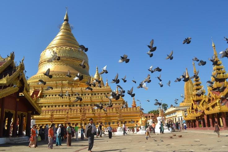 Shwezigon Paya,Bagan-Burma