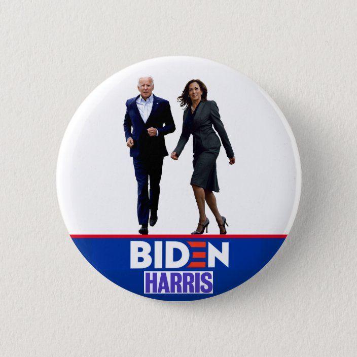 Biden Harris 2020 Button Zazzle Com In 2020 Buttons Harris Memes Quotes