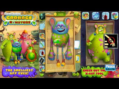 Garbage Monster Messy Makeover Videos games for Kids - Girls - Baby Andr...