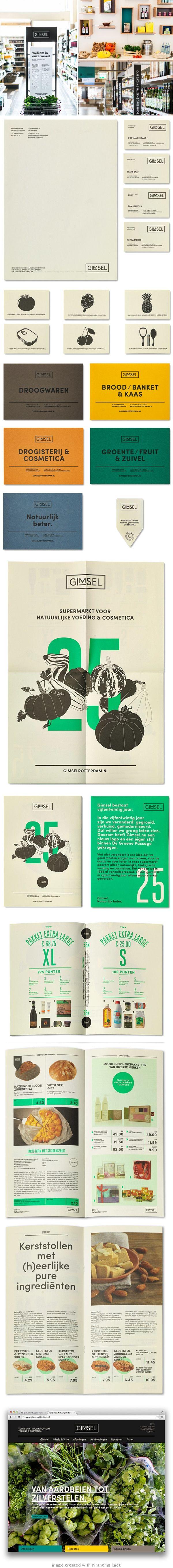 Gimsel Organic Supermarket / by Studio Beige
