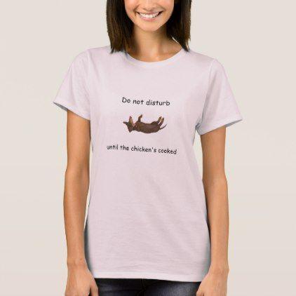 #Sleeping Dachshund Shirt