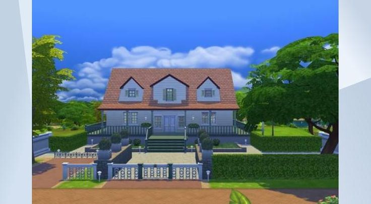 Check out this lot in The Sims 4 Gallery! - #furnished #traditional #garden