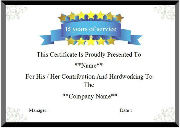 12 Service Certificate Template Certificate Templates