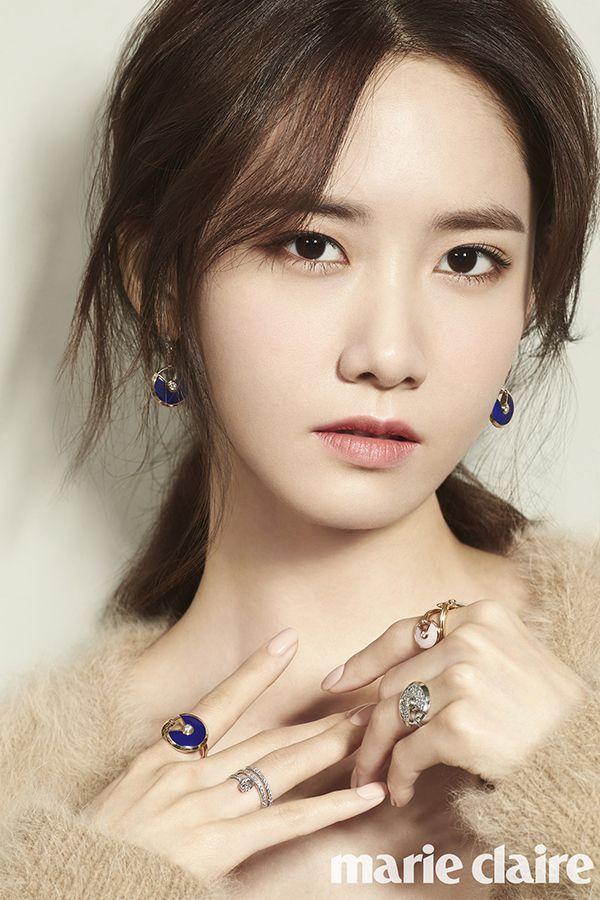 YoonA de Girls' Generation es una belleza elegante de otoño para Marie Claire