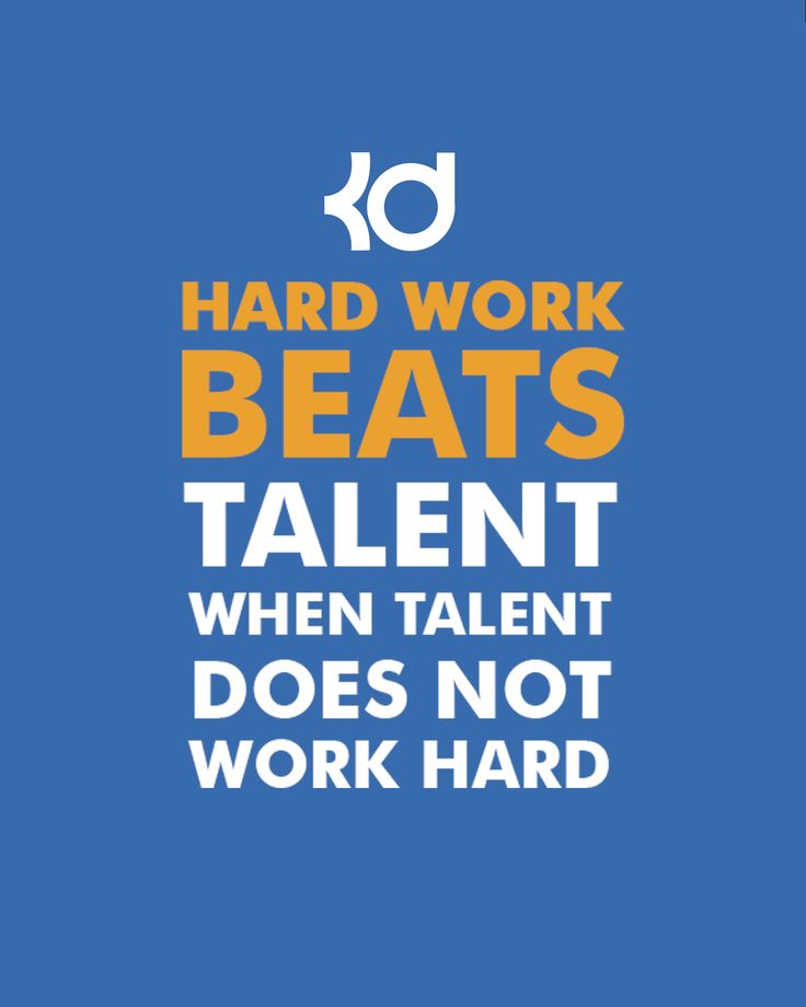 Why Hard Work is Better Than Talent