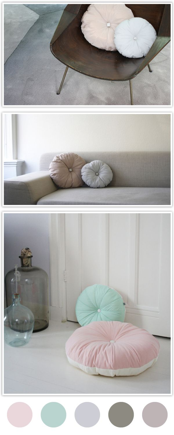 love these pillows!! I hope to try to make these! Maybe I should make big ones for floor pillows?