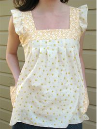 Spring Sewing ~ Spring Ruffle Top Tutorial | Sew Mama Sew |