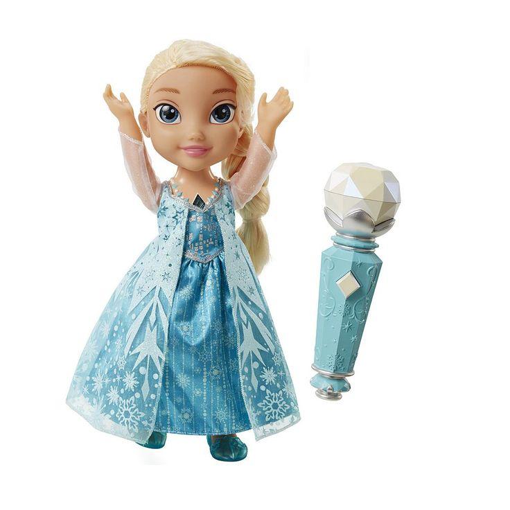 Disney's Frozen Sing Along Elsa Doll, Multicolor