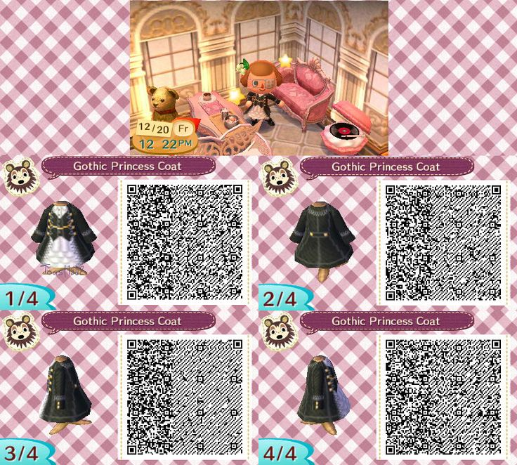 25 Best Images About Animal Crossing: New Leaf QR Codes On