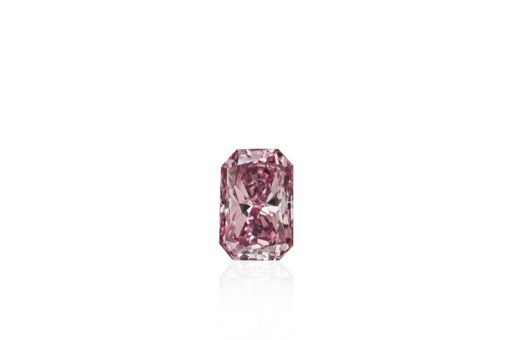 Natural Argyle Pink Radiant Diamond 0.16 ct
