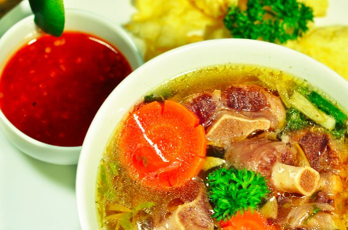 Javanese Oxtail Soup