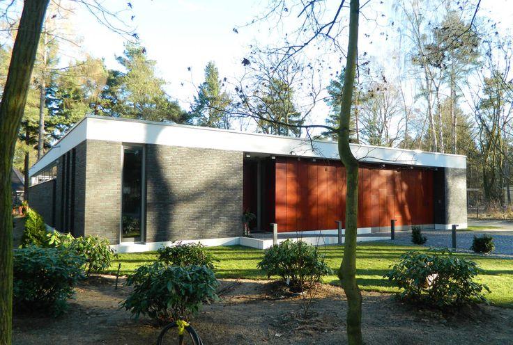 Flachdachbungalow Modern premium entwurf eines flachdach bungalows optional mit