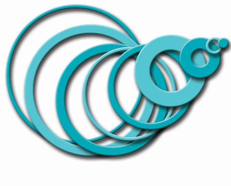 Kovové šablonyFun Filled Rings