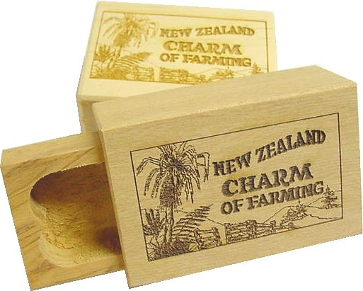 Each charm comes in a handmade wooden box which carries the story of the charm you have chosen.
