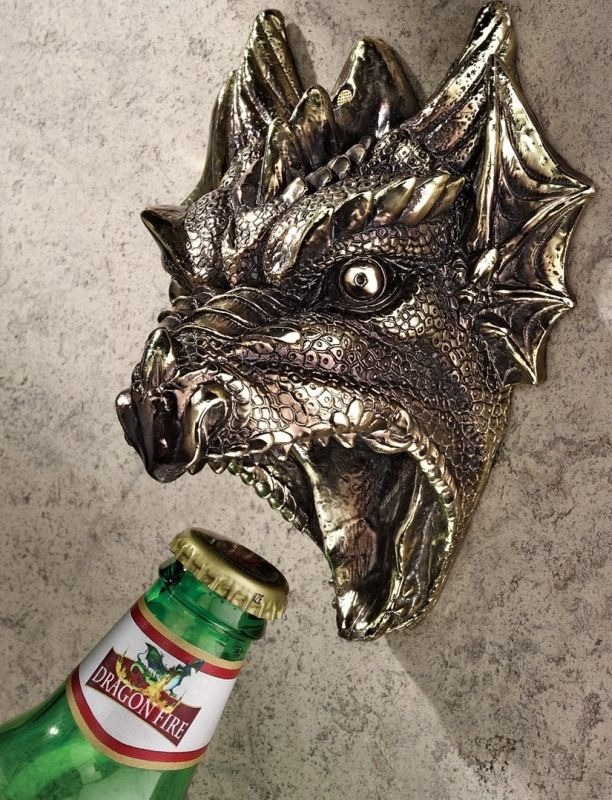 Gothic Dragon Bottle Opener