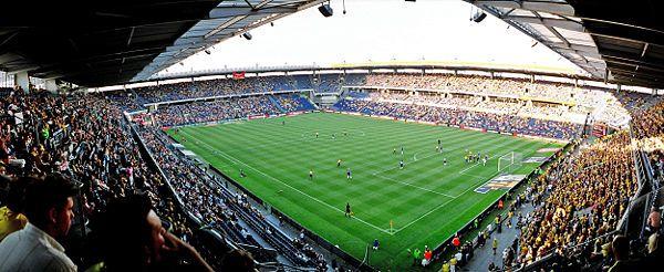 """The former pinner wrote: """"Vi holder egentlig ikke med Brøndby, men det er landets formentlig bedste fodboldstadion. Plads til 29000 tilskuere, hvoraf 23,400 har en siddeplads.   Stemningen kan blive helt fænomenal, selvom det skorter på succes i øjeblikket."""""""