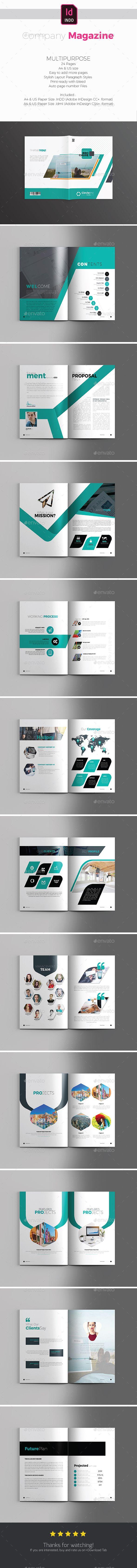Corporate Magazine Vol3 519 best Proposal u0026