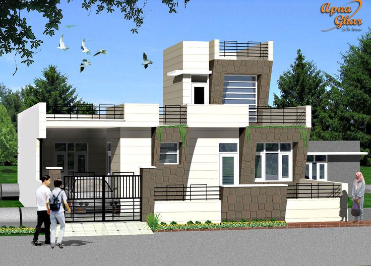 Astonishing 3 Bedrooms Simplex House Design In 242M2 11M X 22M Like Share Largest Home Design Picture Inspirations Pitcheantrous