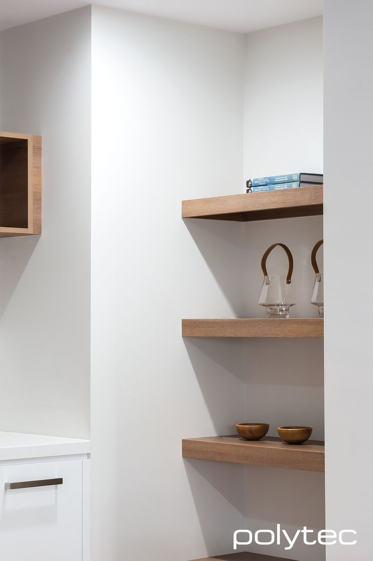 Polytec - Shelving in RAVINE Sepia Oak