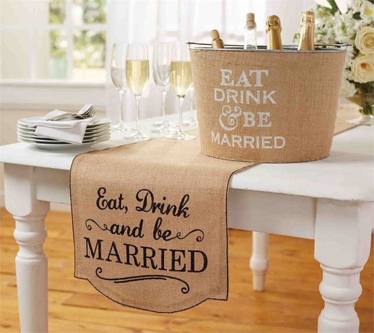 1000 Images About Eat Drink And Be Married On Pinterest: 1000+ Ideas About Burlap Runners On Pinterest