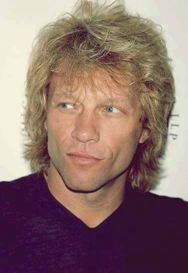 Jon Bon Jovi very blonde