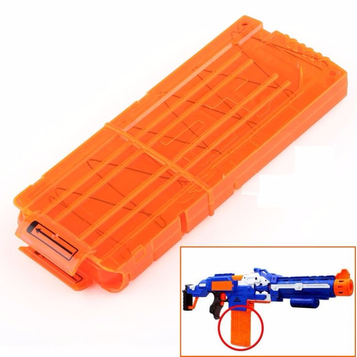Darts Quick Reload Clip System Darts for Electric Toy Gun N-Strike Blaster Refill Clip Darts Kids Best Gifts Free Shipping